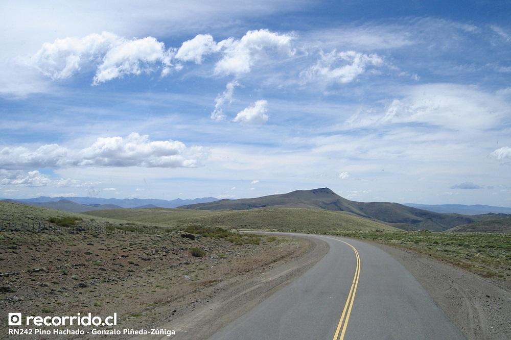 ruta nacional 242 - argentina - pino hachado