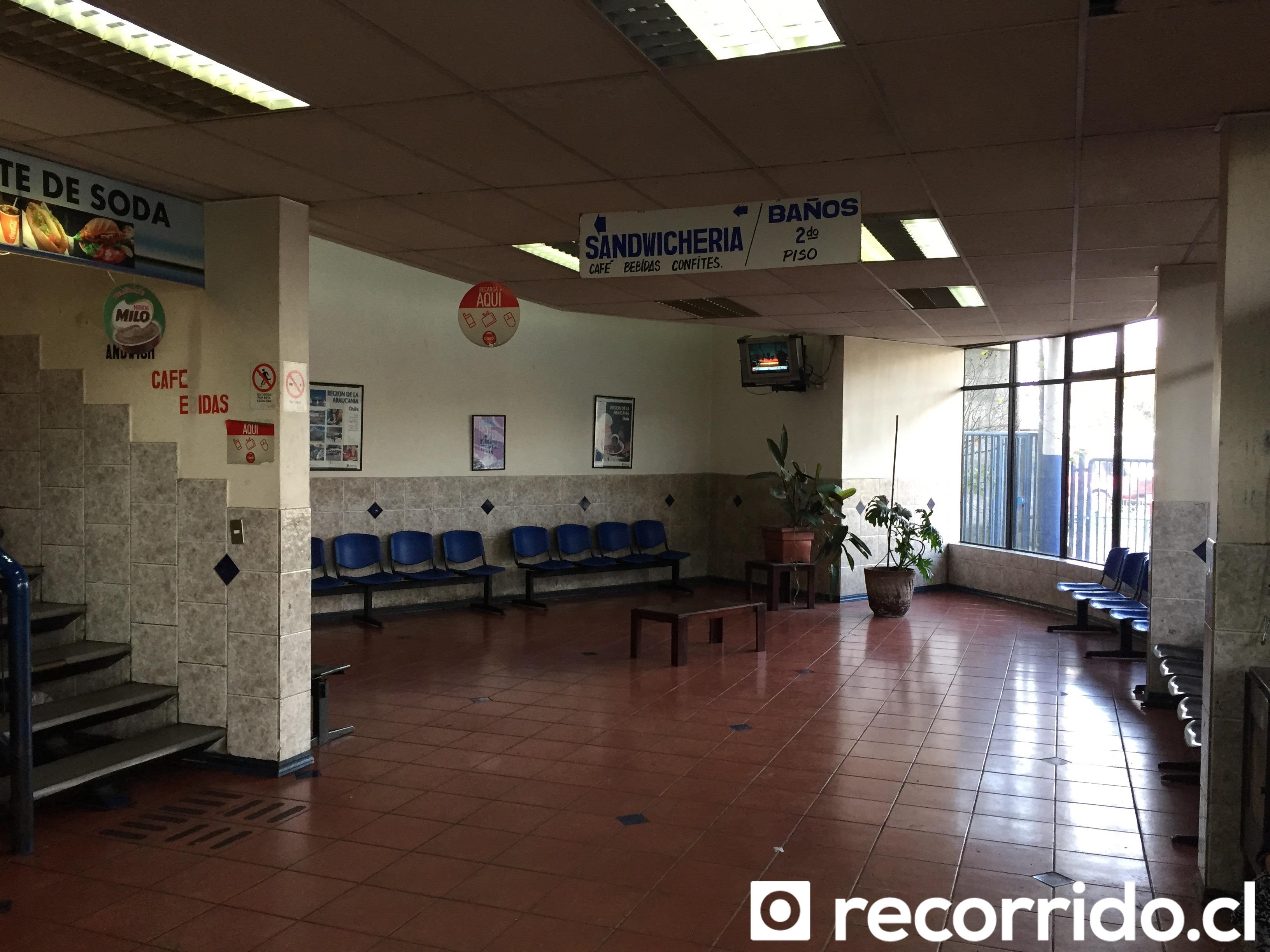 Terminal de Buses Igillaima y Narbus Temuco