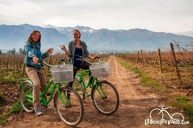 La Bicicleta Verde Viña Cousiño Macul Tour Wine