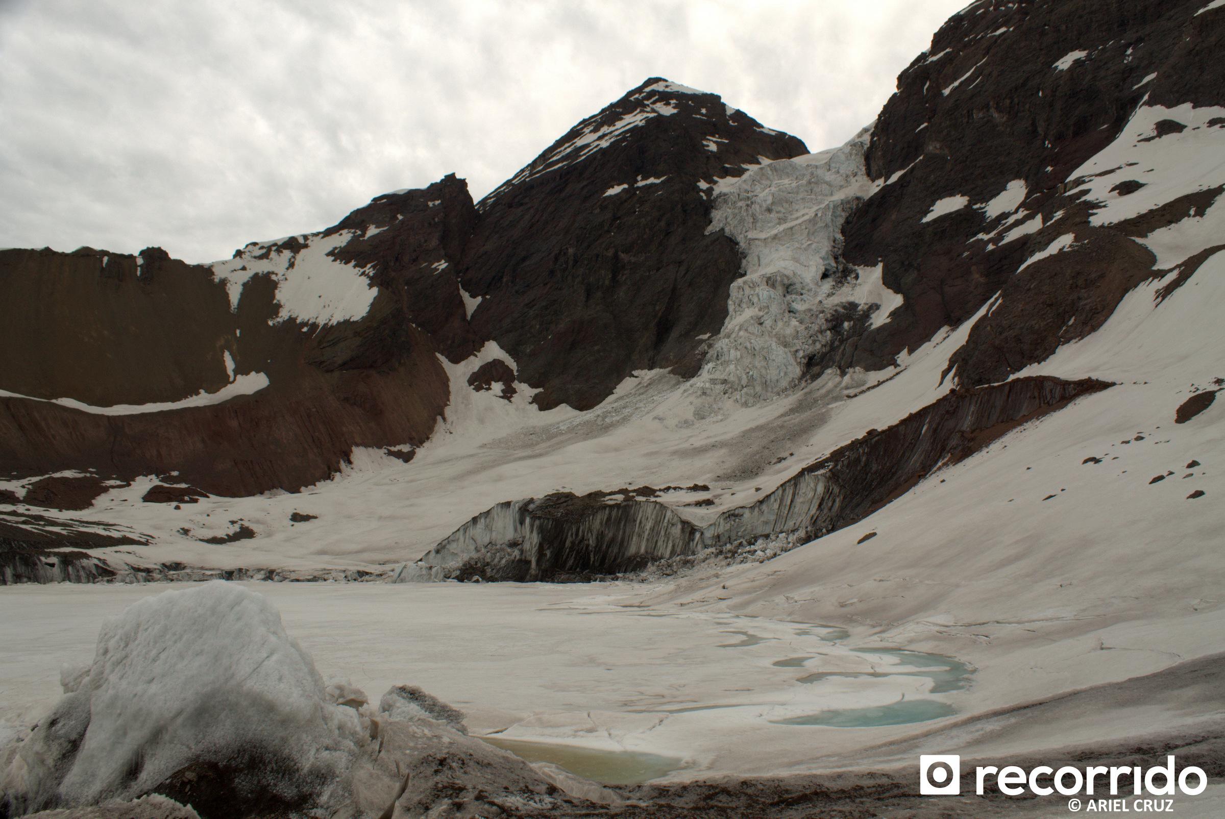Glaciar y Laguna El Morado