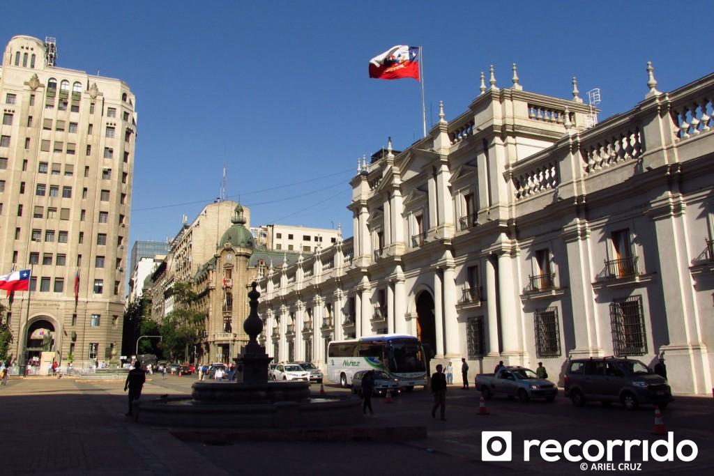 Palacio de La Moneda y Barrio Cívico - Octubre 2014