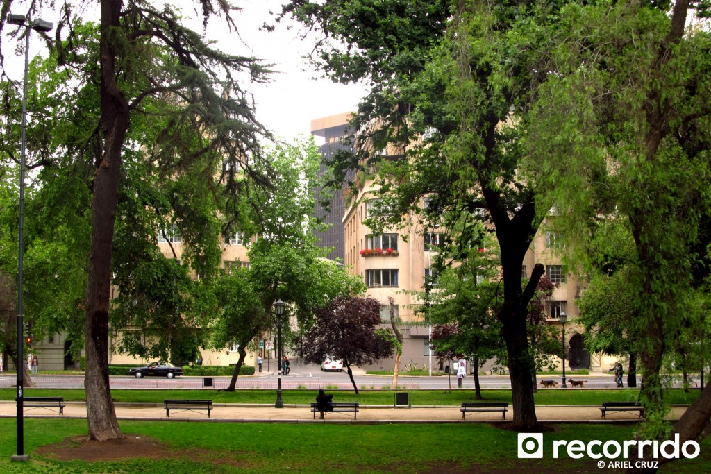 Parque Forestal y Barrio Bellas Artes & Lastarria - Noviembre 2012