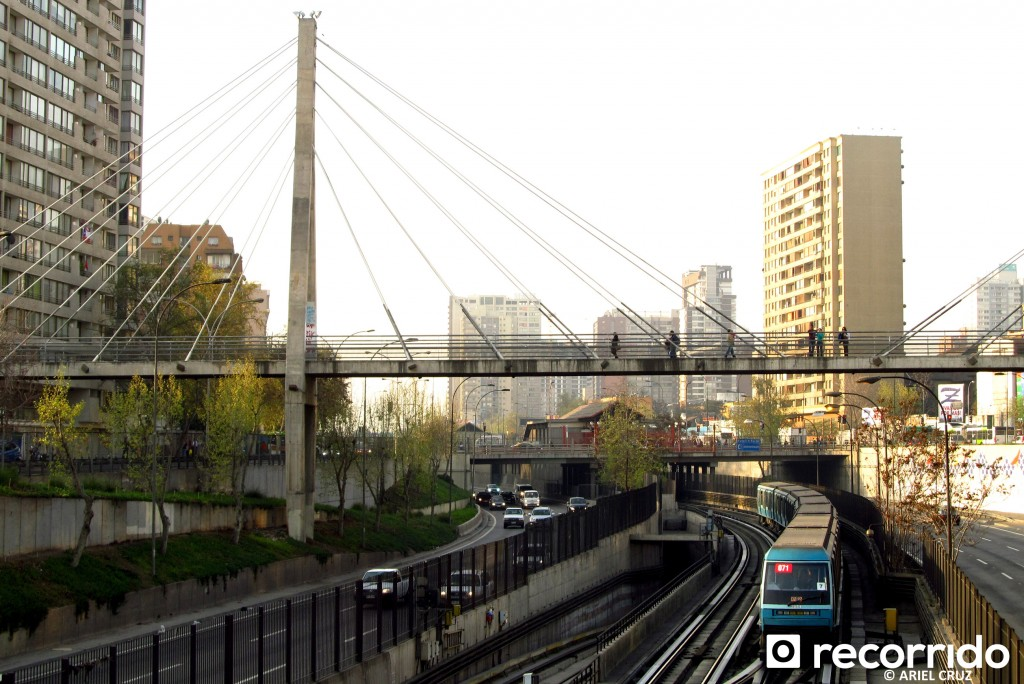 Metro de Santiago - Alstom NS93 - Septiembre 2012