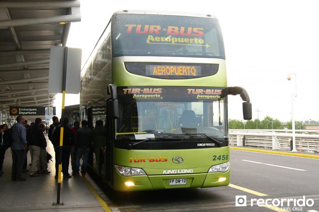 Tur Bus Aeropuerto en SCL - Enero 2014