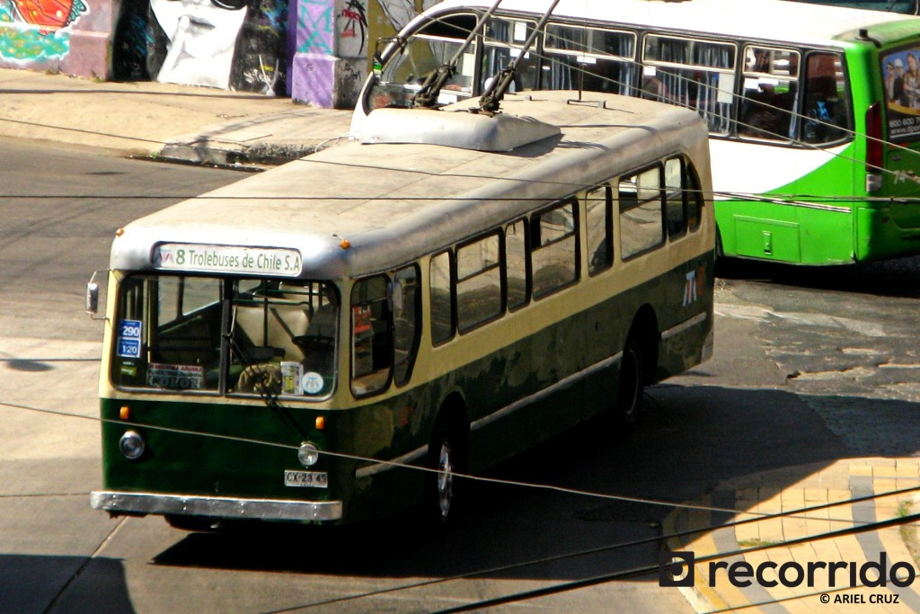 Pullman-Standard 43-CX (Serie 800) Nº821 en Plaza Wheelwright