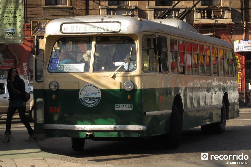 """Pullman Standard 43-CX (Serie 800) Nº 814 """"El Trolebús más Antiguo del Mundo"""""""
