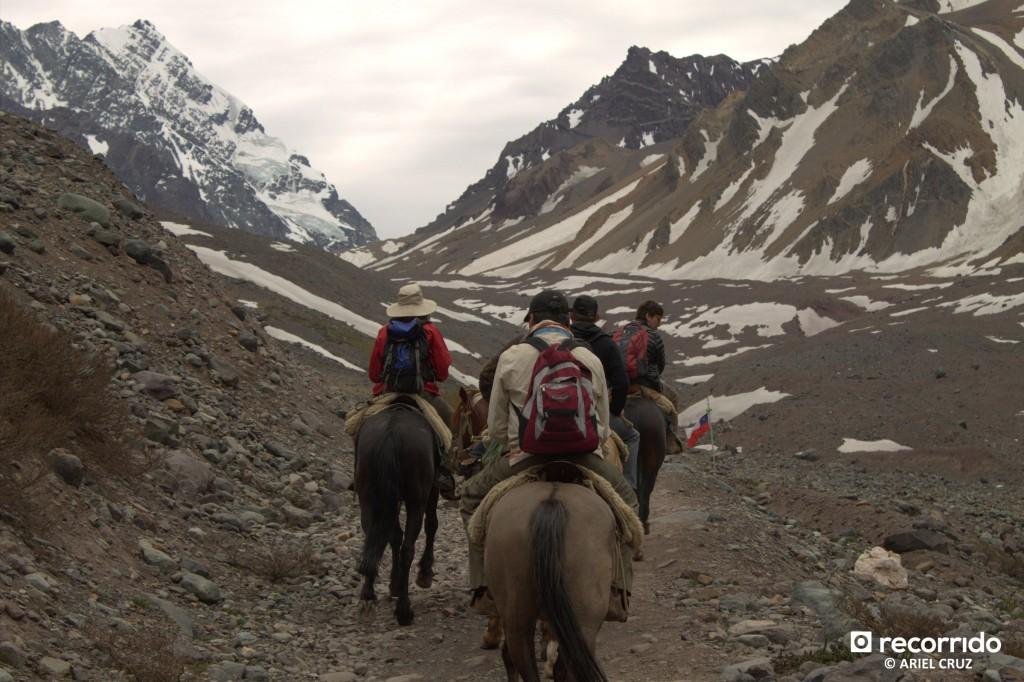 Cabalgatas al Glaciar El Morado