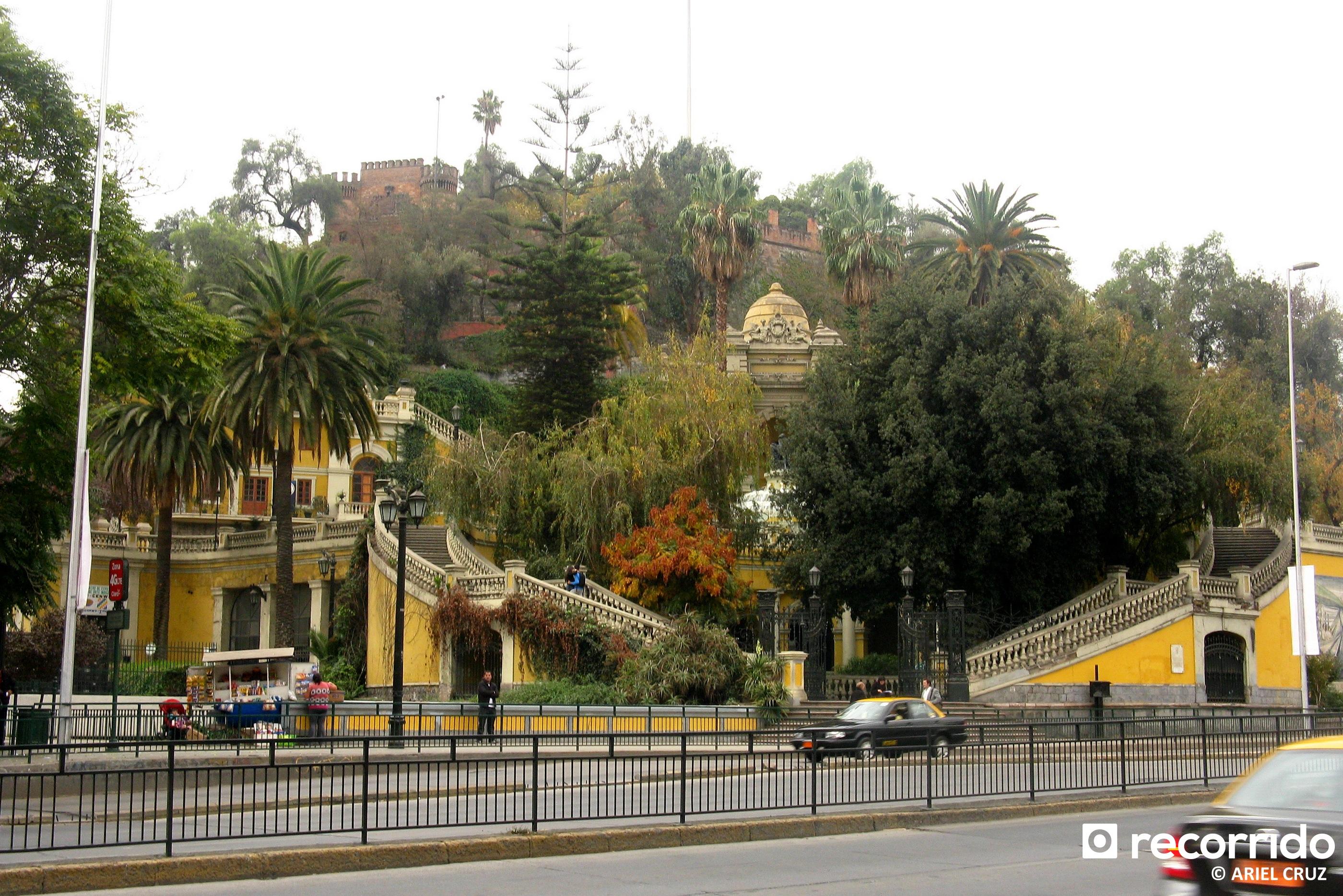 cerro santa luc a santiago como llegar en metro horario