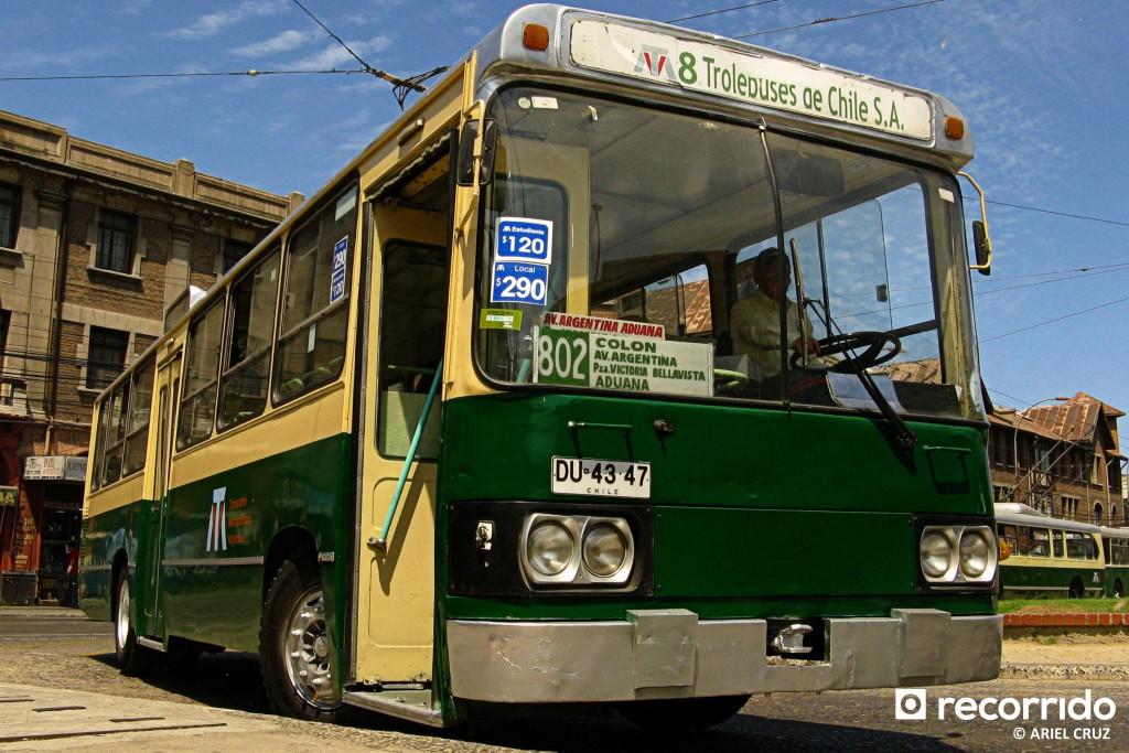 Norinco Shenfeng SYD-60 Nº 507 en Paradero Avenida Argentina - Febrero 2010