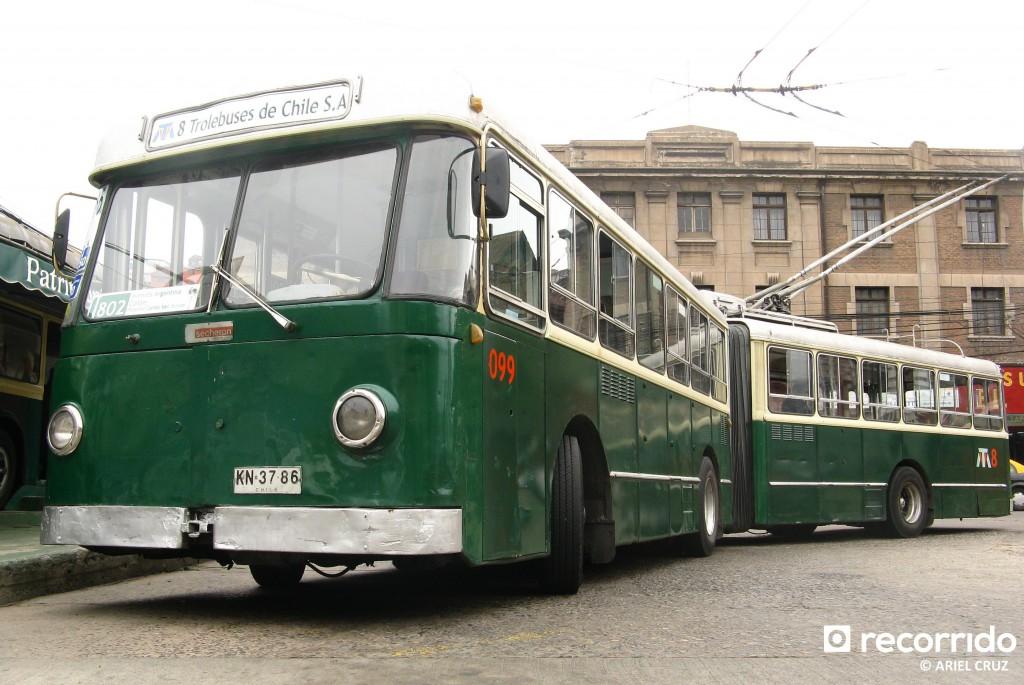 Nº 099 en Paradero Avenida Argentina - Enero 2013