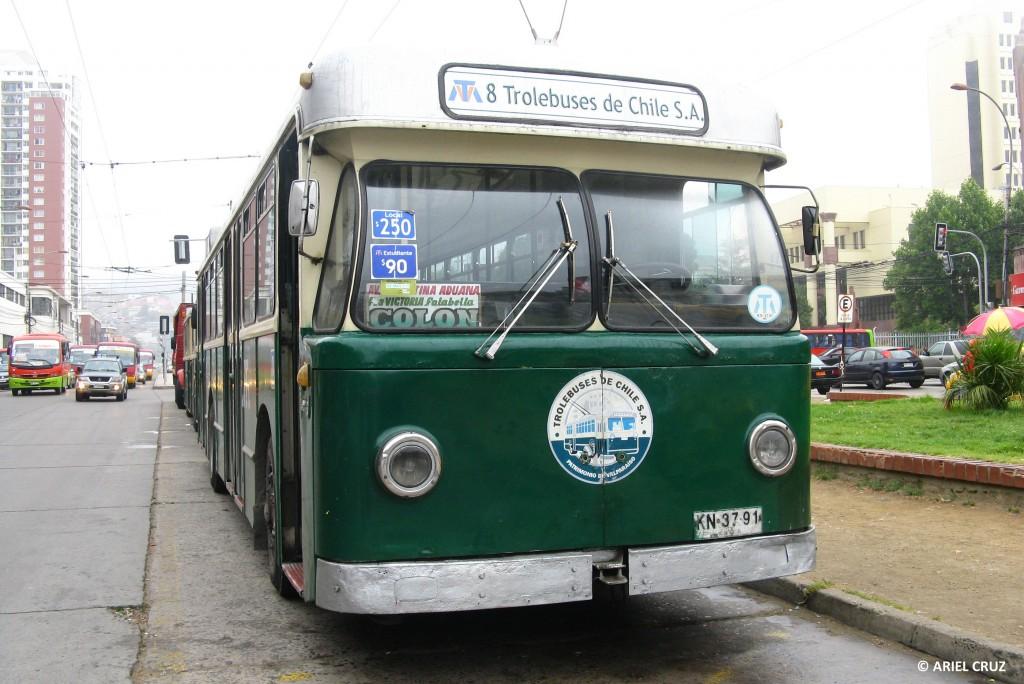 Nº 203 en Paradero Avenida Argentina - Enero 2013