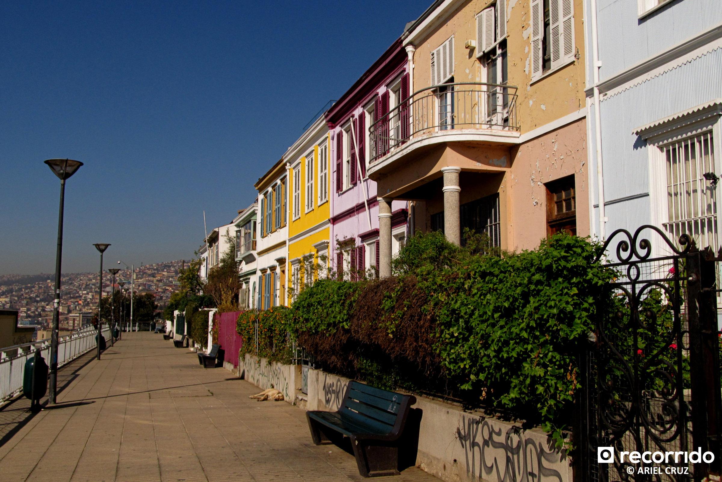 Paseo Atkinson en Valparaíso