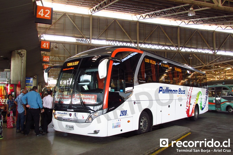 pullman bus - fxfw64 - 2920 - neobus new road - san borja