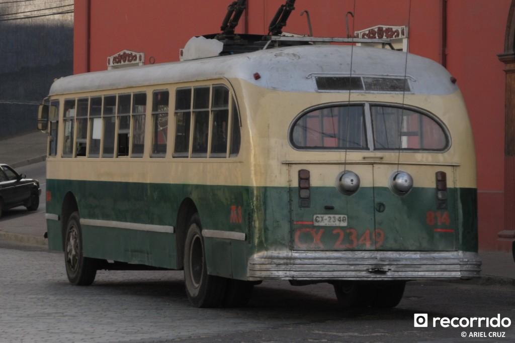 Pullman Standard 43-CX (Serie 800) Nº 814 en la Aduana - Julio 2012