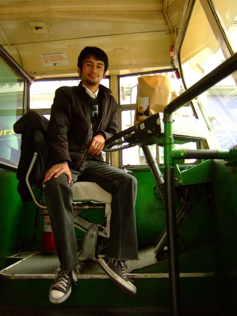 Samuel Fuentes, creador y redactor del Blog Trolleybus Valparaíso