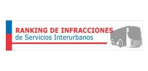 Ranking de Empresas Interurbanas, logra bajar la tasa de Infracciones en su sexta emisión.