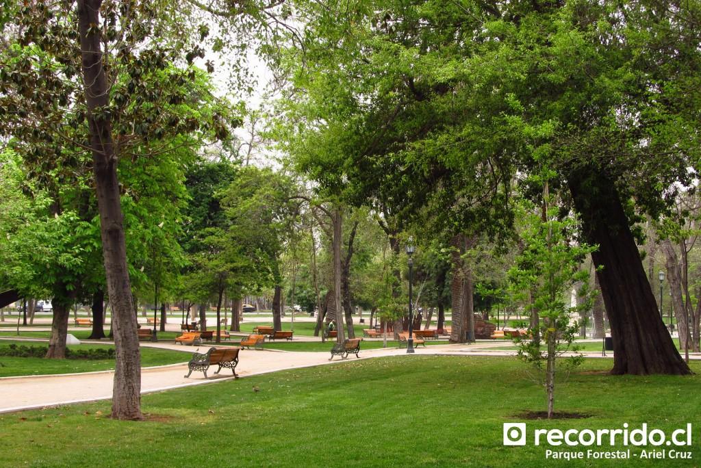 Parque Forestal - Octubre 2012
