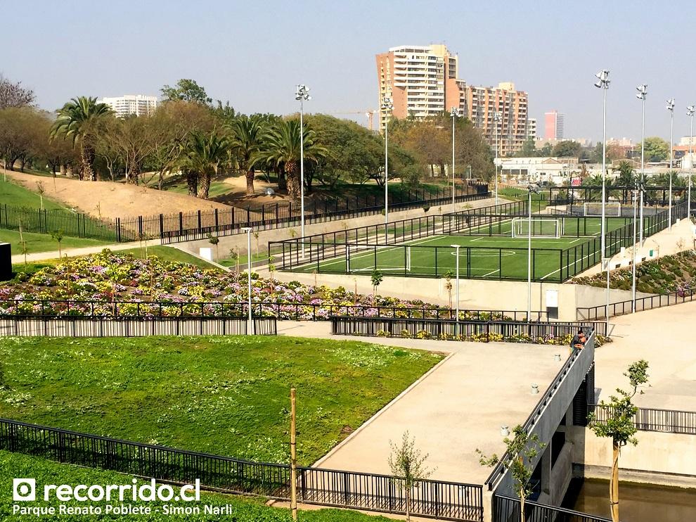 Parque Fluvial Renato Poblete Quinta Normal