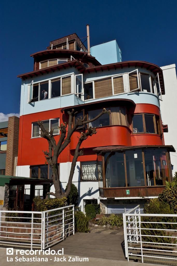 Casa La Sebastiana de Pablo Neruda en Valparaíso