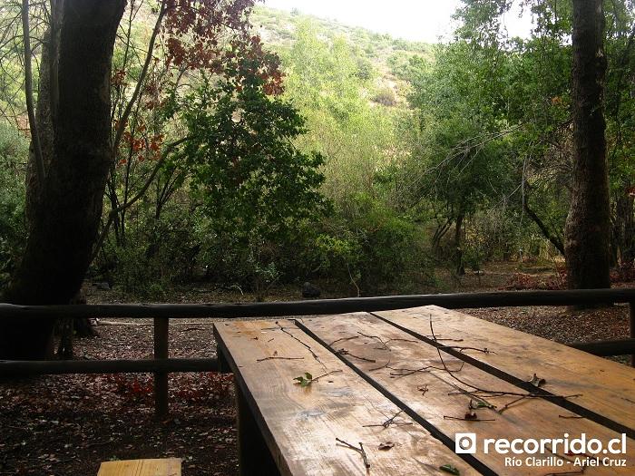 Picnic en Río Clarillo