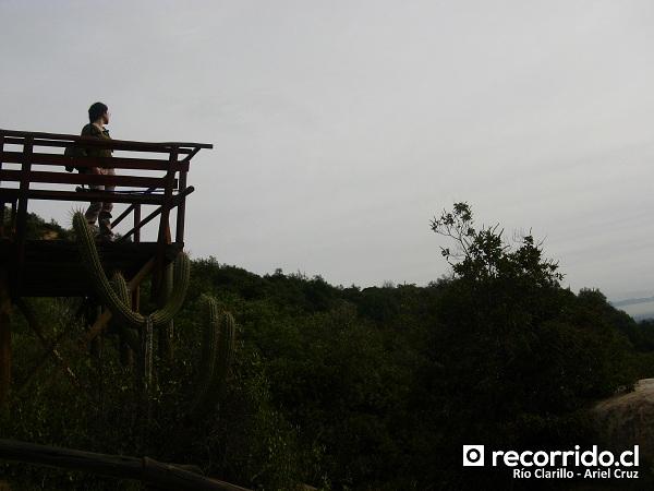 Mirador en Sendero Quebrada Jorquera