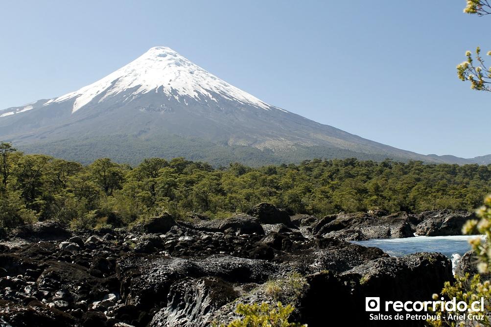 saltos petrohué - volcán osorno - pnvpr