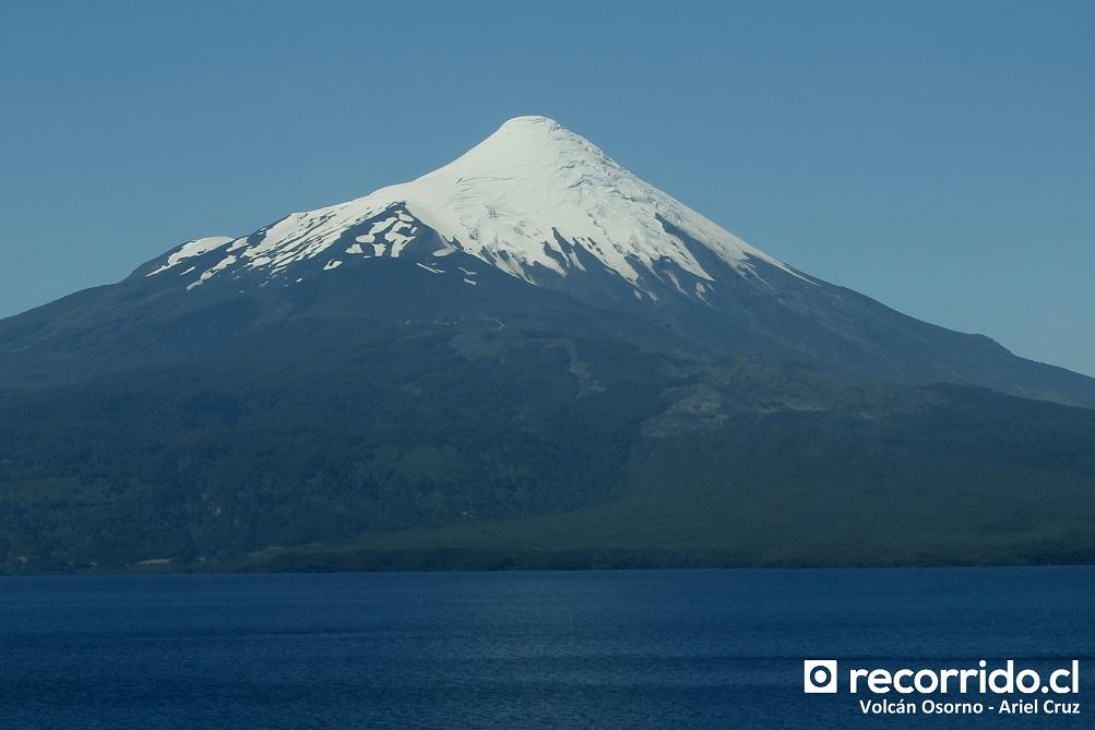 volcán osorno - mitsubishi fuso - lago llanquihue - ffcl23