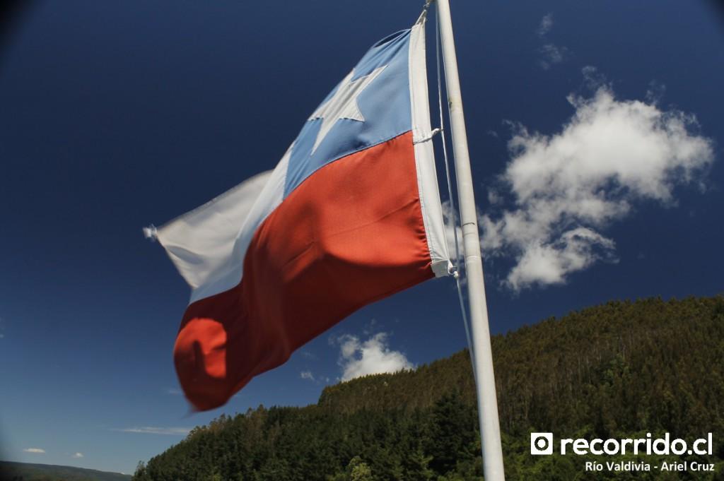 bandera - chile - reina sofía