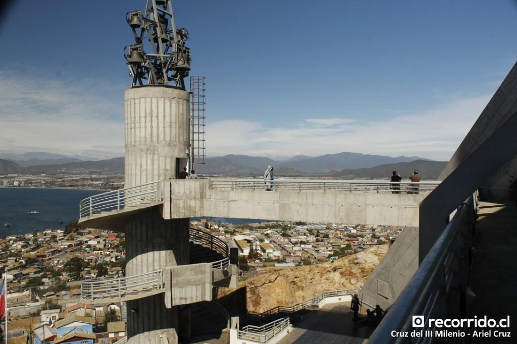 cruz del milenio - coquimbo - ascensor