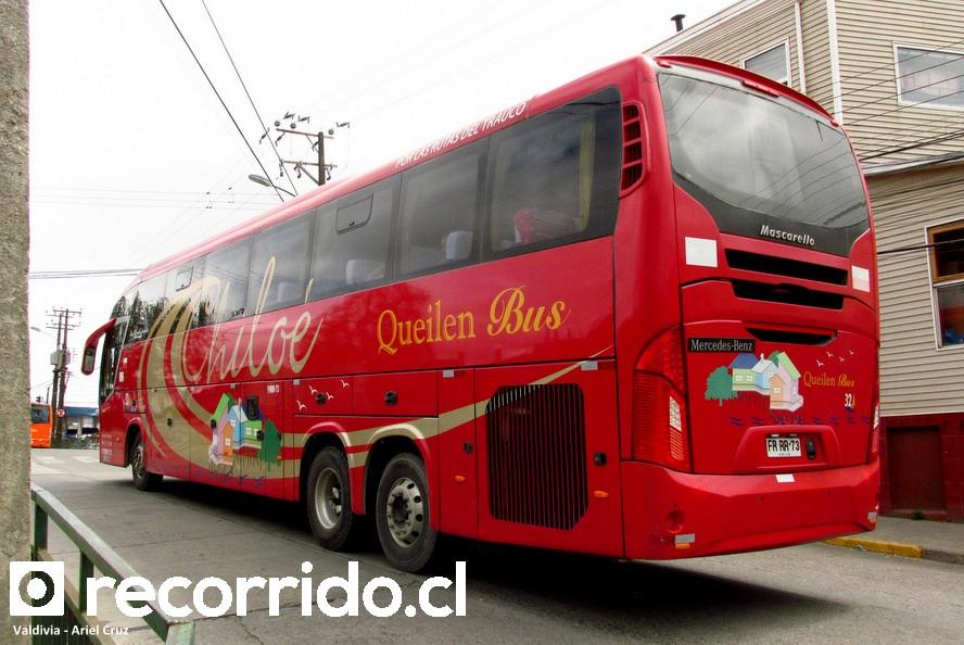 frrr73 - queilen bus - isla de chiloé - valdivia - roma 370