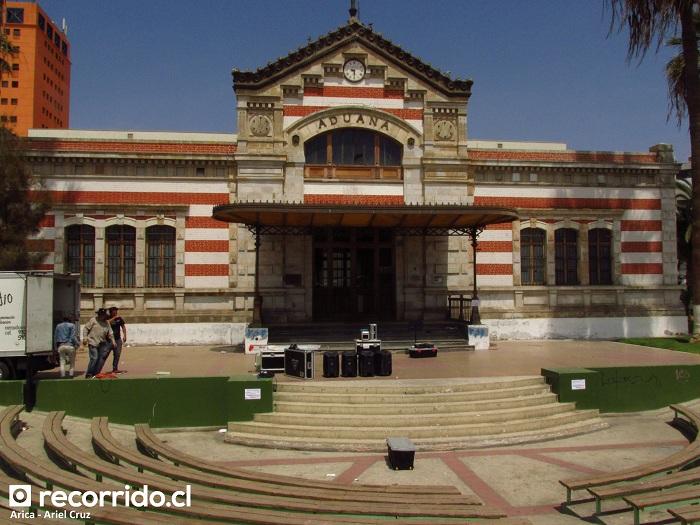 aduana - casa de la cultura - arica - anfiteatro
