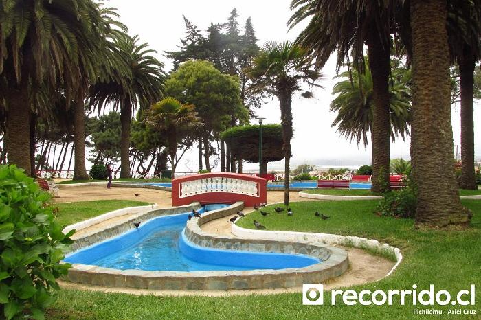 pichilemu - pch - palacio ross - jardínes