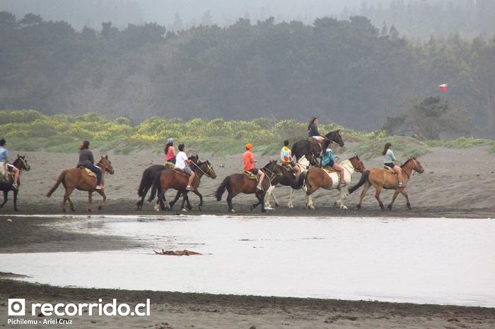 pichilemu - pch - caballos - cabalgatas - playa