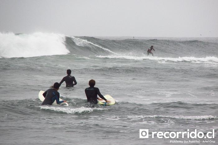 la puntilla - surf - pichilemu - trío - triada - surfistas