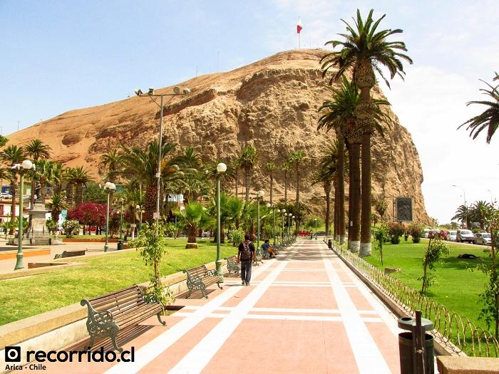 plaza vicuña mackenna - morro de arica