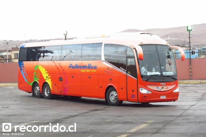pullman bus - irizar i6 - 3291 - gzxd69 - arica