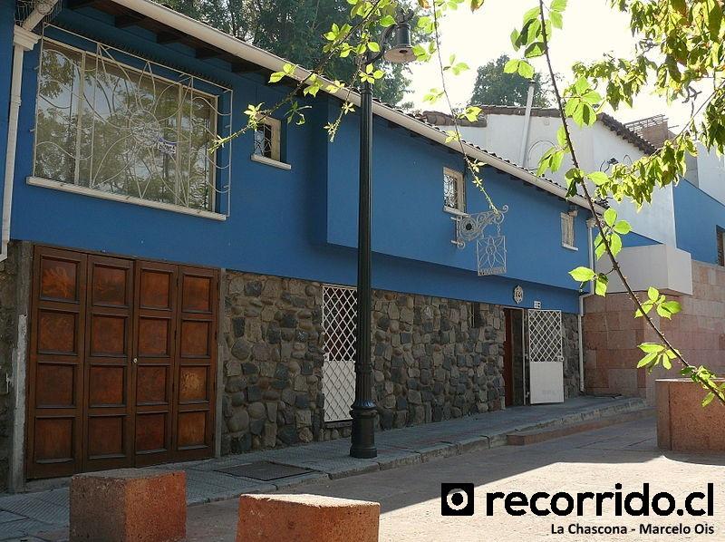 Casa La Chascona de Pablo Neruda