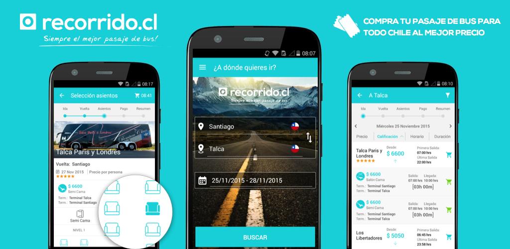 Pasajes de bus baratos a todo Chile & Argentina