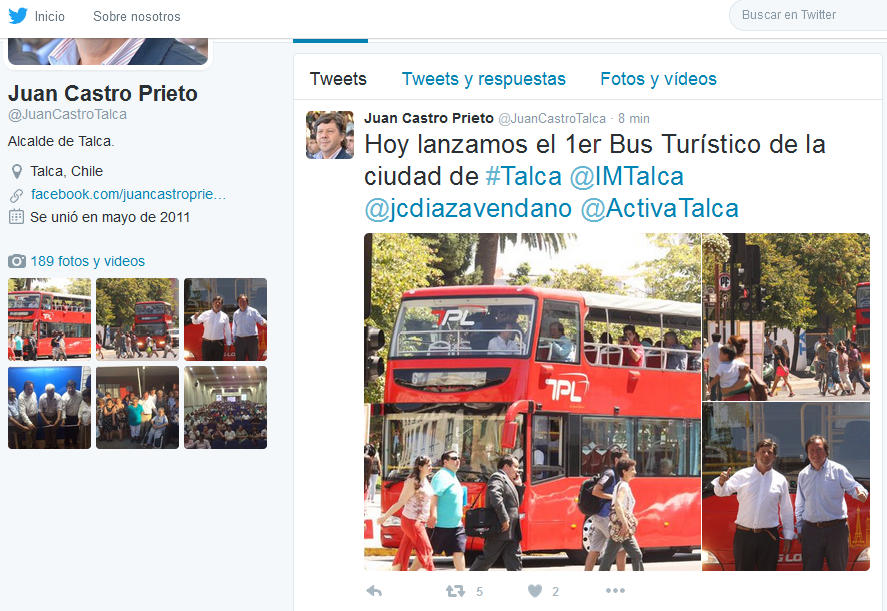 Twit Buses turismo TPL