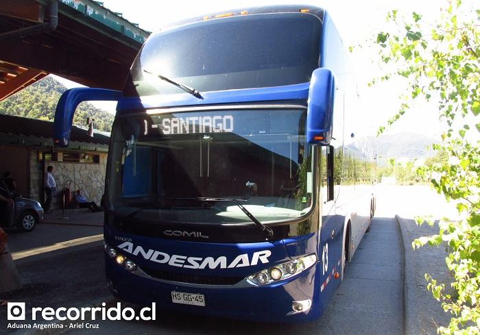 andesmar chile - aduana argentina - hsgg45 - campione dd