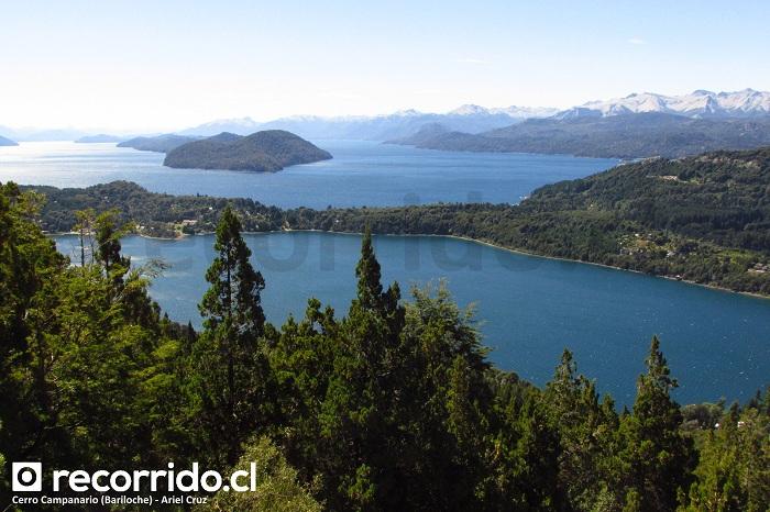 Bariloche, Cerro Campanario y Parque Nacional Nahuel Huapi