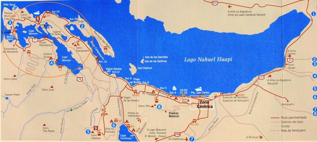 Circuito Chico Bariloche : Paseo por el cerro campanario en bariloche recorrido cl
