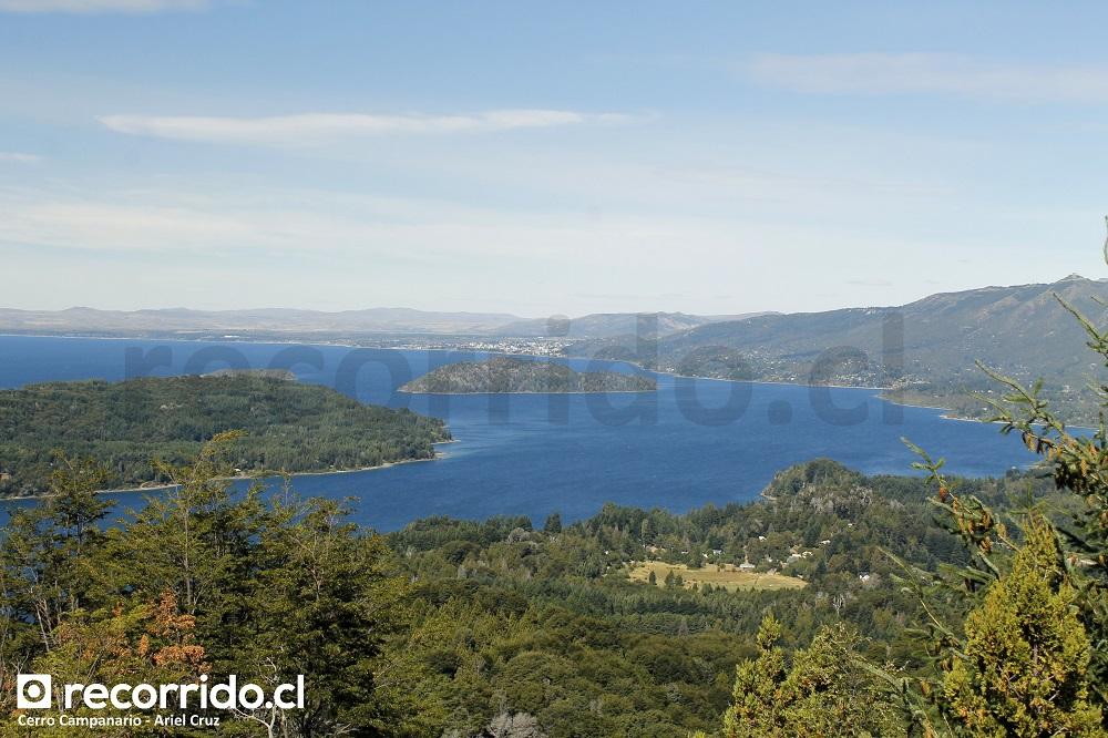 bariloche - cerro campanario - lago nahuel huapi - cerro campanario