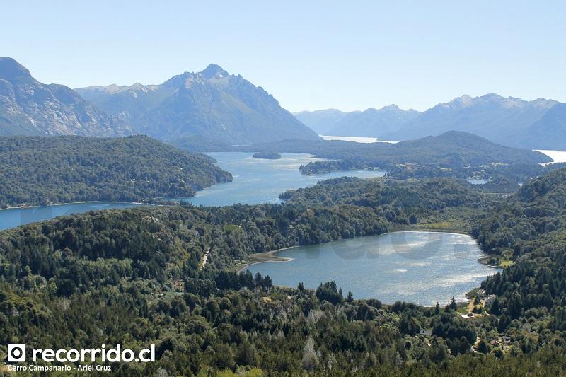 cerro campanario - laguna el trébol - lago perito moreno - cerro catedral - hotel llao llao - punto panorámico - bariloche - patagonia