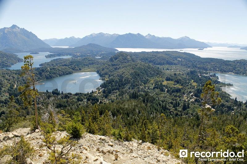 cerro campanario - bariloche - mirador - terraza