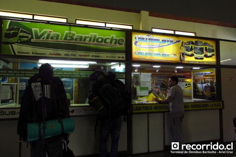 vía bariloche - busplus - crucero del norte - terminal ómnibus - bariloche