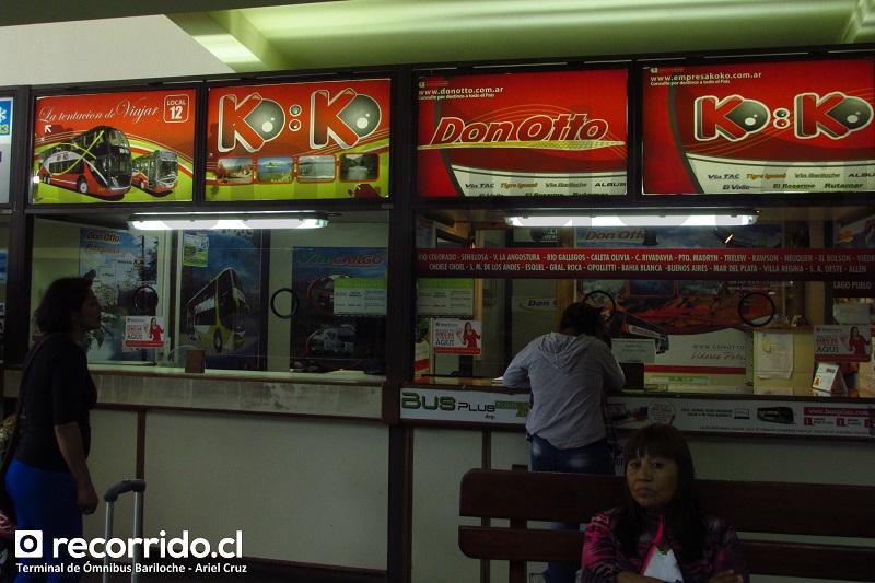 koko - don otto - busplus - bariloche - terminal ómnibus