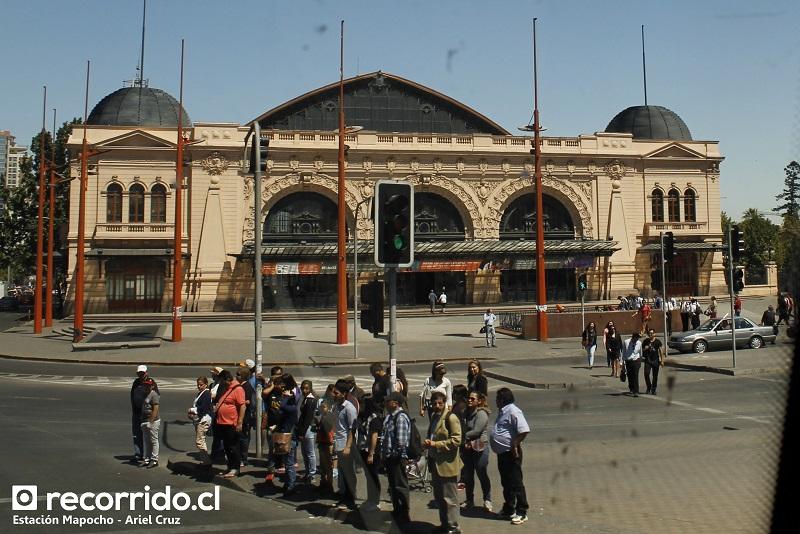 Estación Mapocho, convertida en centro cultural