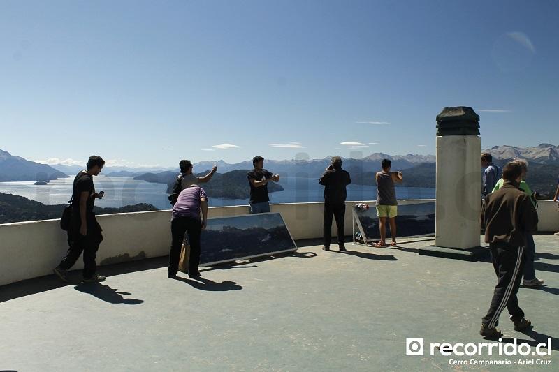 terraza - mirador - cerro campanario - bariloche