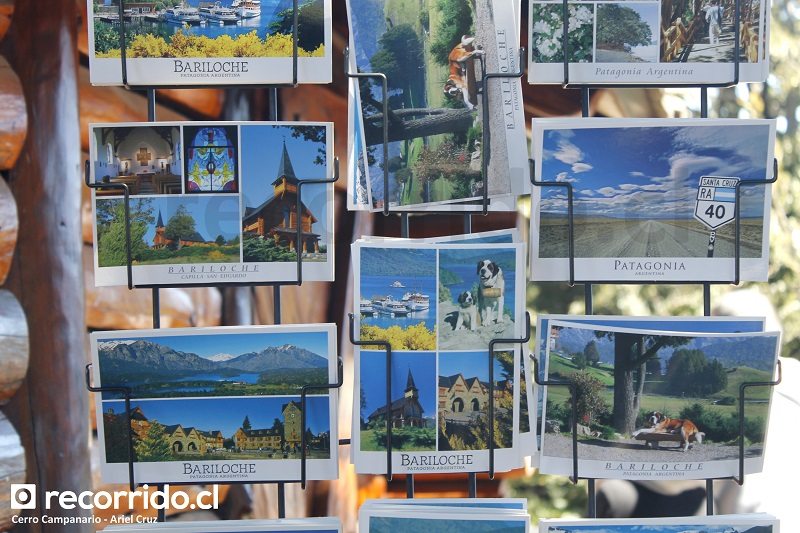 postales - bariloche - cerro campanario